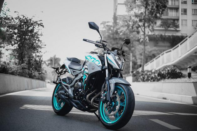 Chi tiết naked bike của Trung Quốc CFMoto CF 400 NK, giá